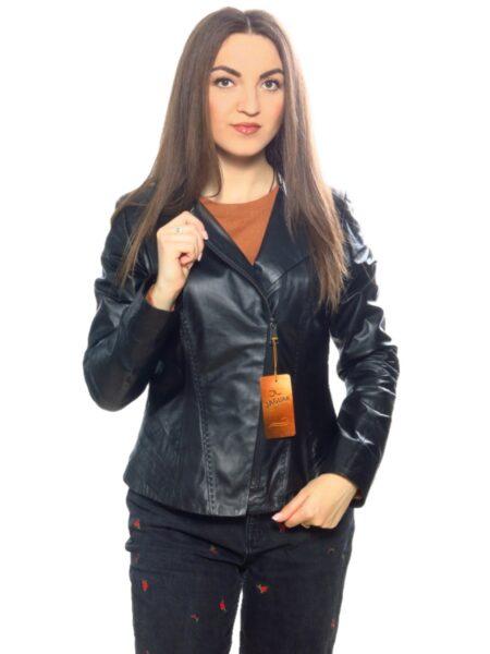 Женская кожаная куртка AP5270 black max